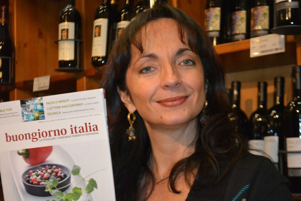 Valeria Vairo, italienische Journalistin und Buchautorin